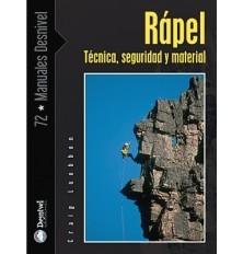 RAPEL TECNICA, SEGURIDAD Y MATERIAL
