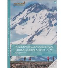 Mapa Guía Parque Nacional Radal Siete Tazas y Reserva Nacional Altos De Lircay